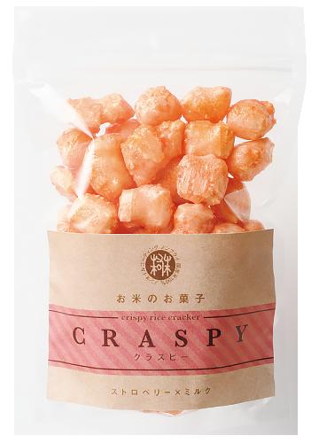 CRASPY(クラスピー):ストロベリー×ミルク